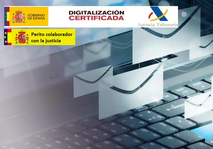 Auditoria digitalización certificada AEAT
