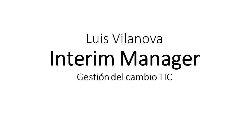 Interim Manager TIC
