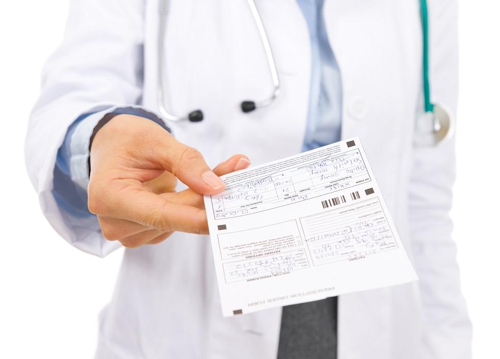 Auditoria de receta médica privada electrónica